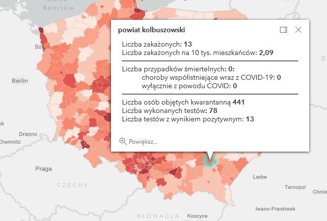 Zakażenia Covid-19 w powiecie kolbuszowskim [wtorek - 6 kwietnia] - Zdjęcie główne