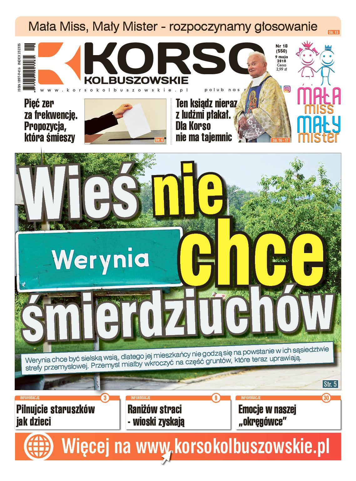 Nowy numer Korso Kolbuszowskie - nr 18/2018 - Zdjęcie główne