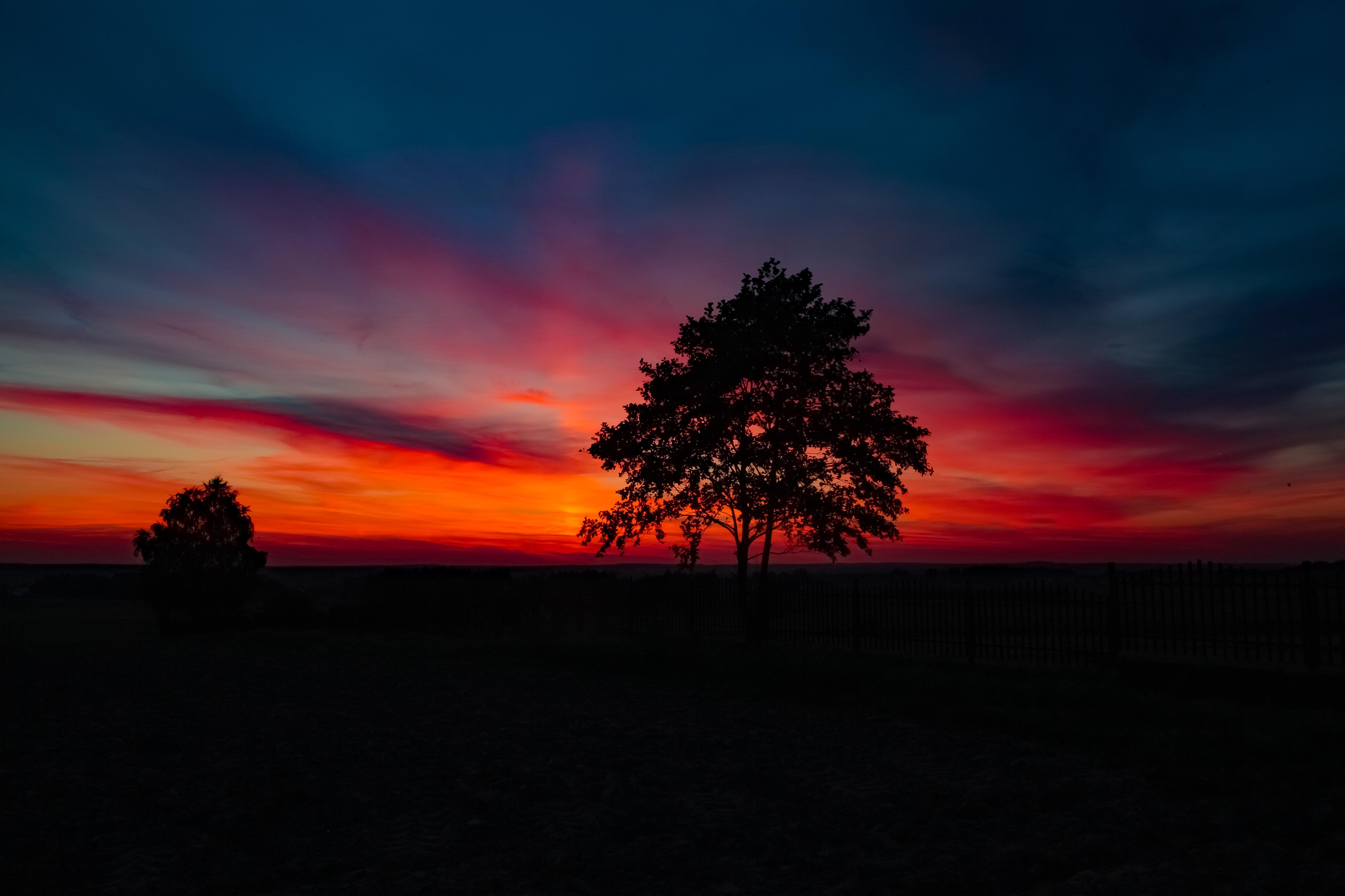 Zachód słońca oczami naszego Czytelnika  - Zdjęcie główne
