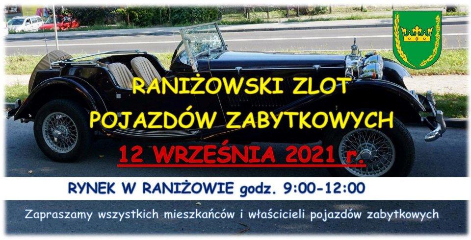12 września: Zlot zabytkowych pojazdów - Raniżów 2021 - Zdjęcie główne