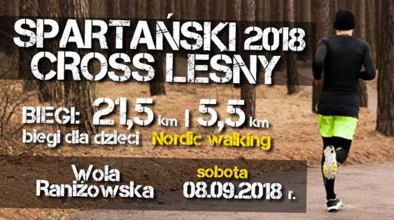 Gmina Raniżów. Gratka dla miłośników biegów terenowych. Spartański Cross Leśny 2018 Wola Raniżowska - Zdjęcie główne