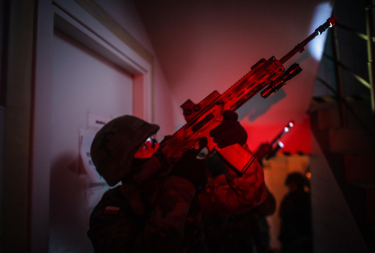 Nocne szkolenie terytorialsów w naszym regionie [ZDJĘCIA] - Zdjęcie główne
