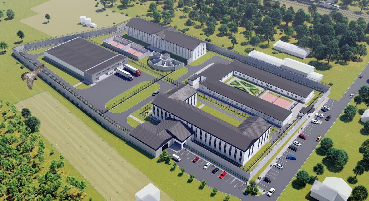 Dwa lata na stworzenie najnowocześniejszego więzienia w Europie! Powstanie blisko powiatu kolbuszowskiego - Zdjęcie główne