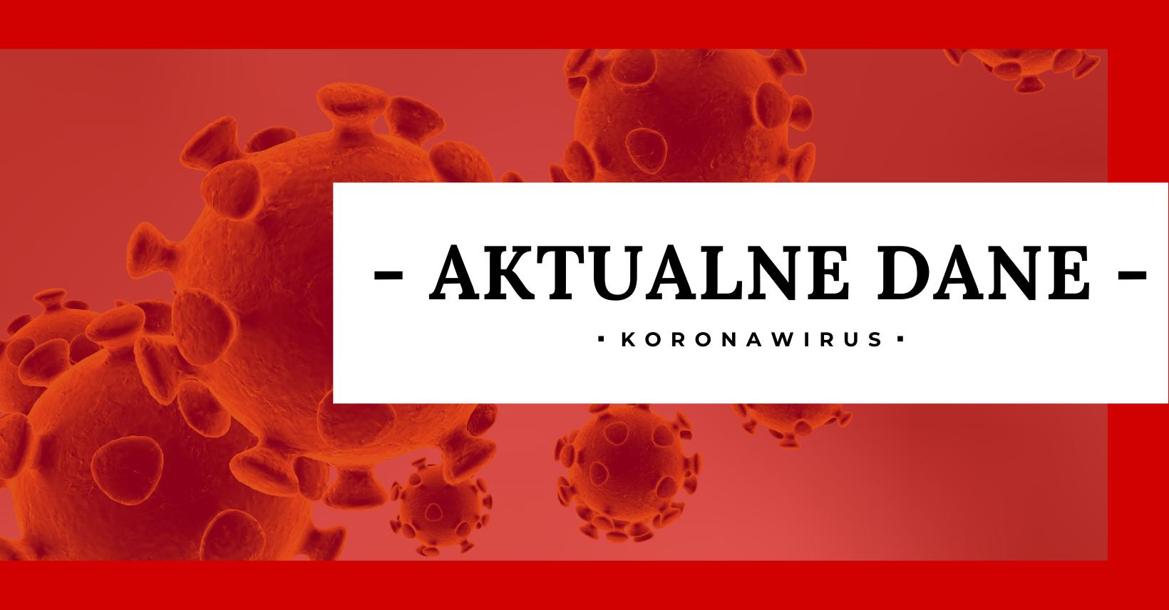 KORONAWIRUS: aktualne dane z Podkarpacia  - Zdjęcie główne