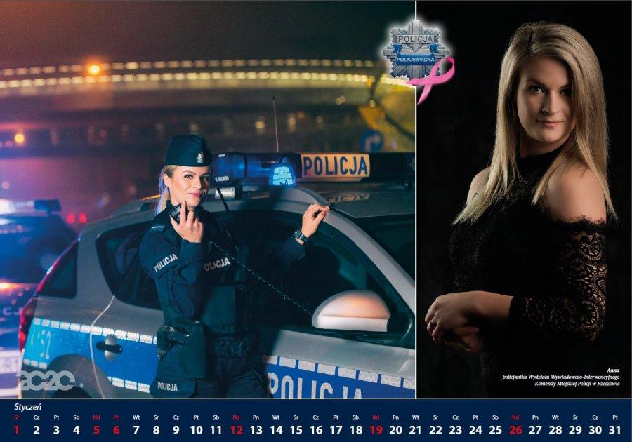 Policyjny kalendarz. Piękne rzeszowskie policjantki pomagają Amazonkom [VIDEO] - Zdjęcie główne