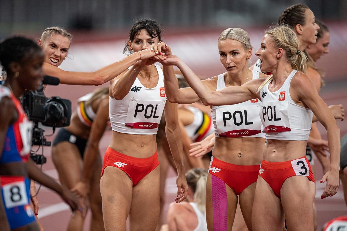 TOKIO 2020: Ależ bieg naszej żeńskiej sztafety! Jest rekord kraju i srebrny medal [ZDJĘCIA] - Zdjęcie główne