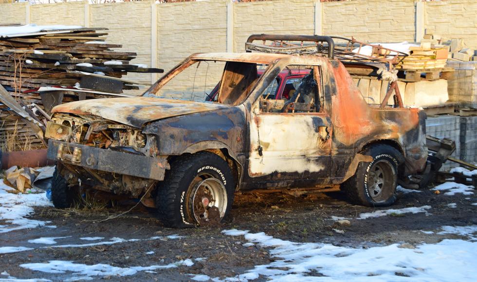 Nowe fakty w sprawie śmierci 25-latka, który zginął w pożarze auta w Trzęsówce - Zdjęcie główne