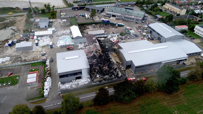 Skala zniszczeń z lotu ptaka [FOTO] - Zdjęcie główne