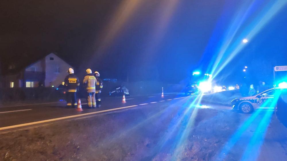 Wypadek na jednej z kolbuszowskich ulic [FOTO] - Zdjęcie główne