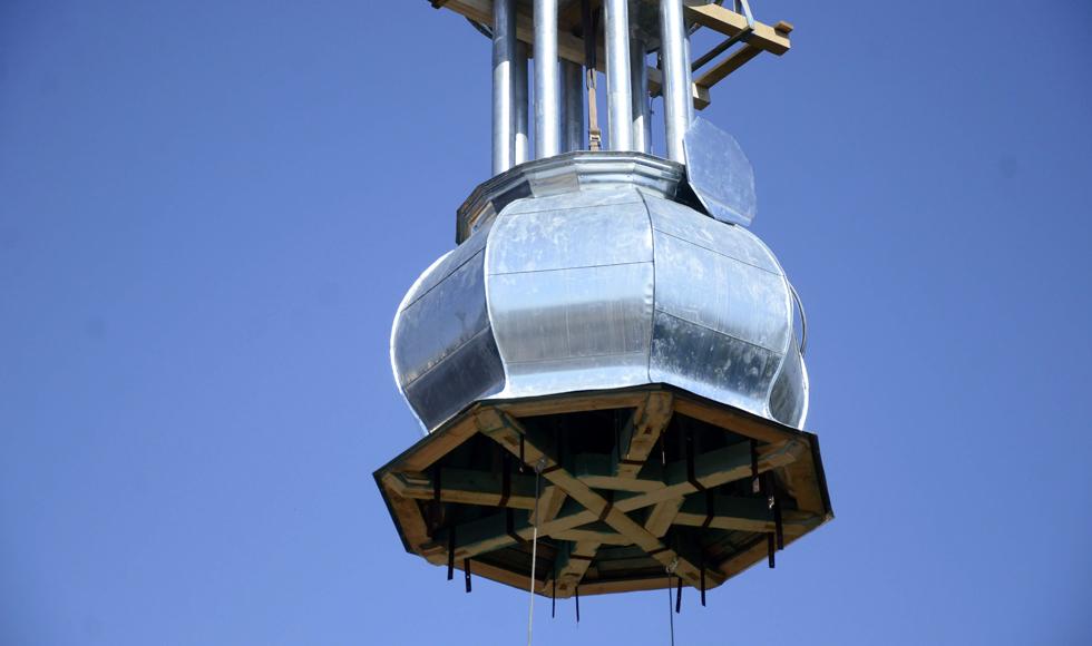 Wieża w powietrzu. Koniecznie musisz zobaczyć te zdjęcia |GALERIA| WIDEO| - Zdjęcie główne