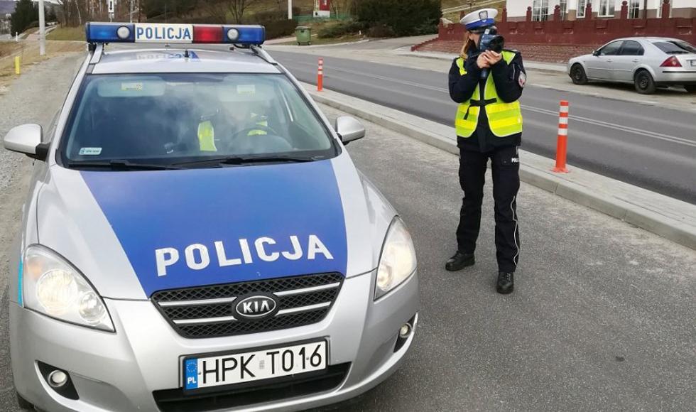 Środki odurzające i szybka jazda - to sprawdzają kolbuszowscy policjanci  - Zdjęcie główne