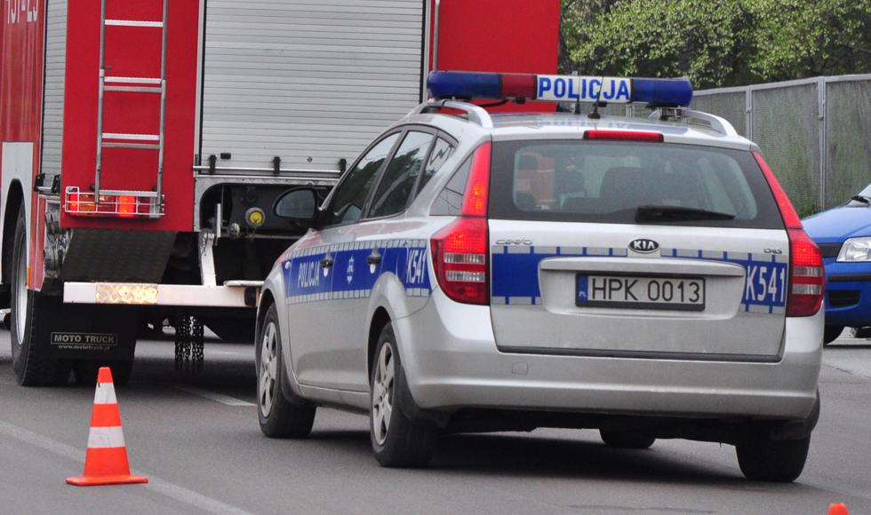 Majdan Królewski. Autokar potrącił pieszego, który prowadził rower - Zdjęcie główne