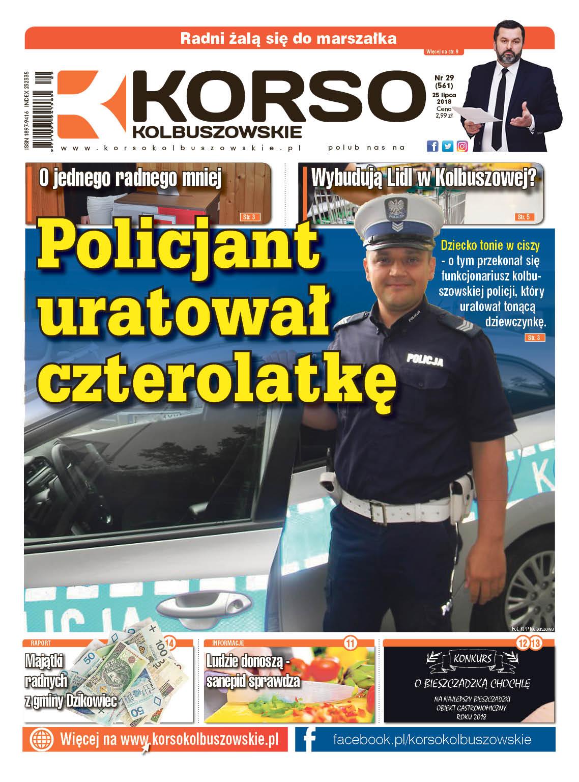 Korso Kolbuszowskie - nr 29/2018 - Zdjęcie główne