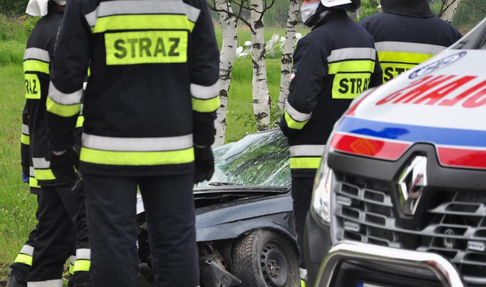 Podkarpacie: Na DK19 zderzyły się trzy samochody - Zdjęcie główne