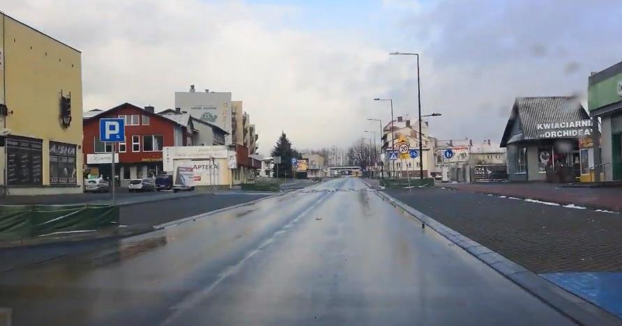 KOLBUSZOWA. Ulice niemal puste [VIDEO] - Zdjęcie główne