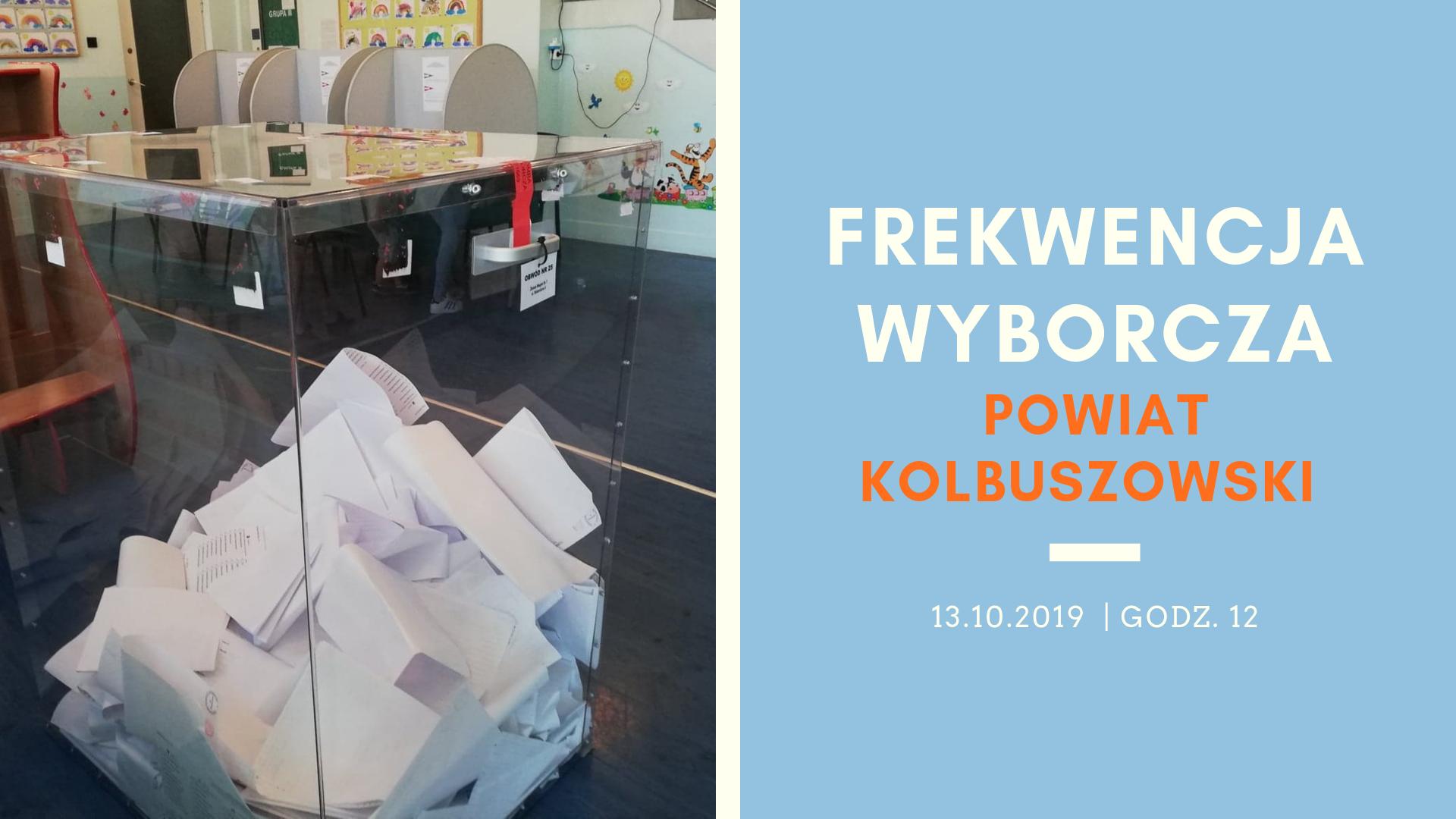 Dzisiaj wybory parlamentarne. Jak wgląda frekwencja o godz. 12 w powiecie kolbuszowskim? [WYBORY 2019] - Zdjęcie główne