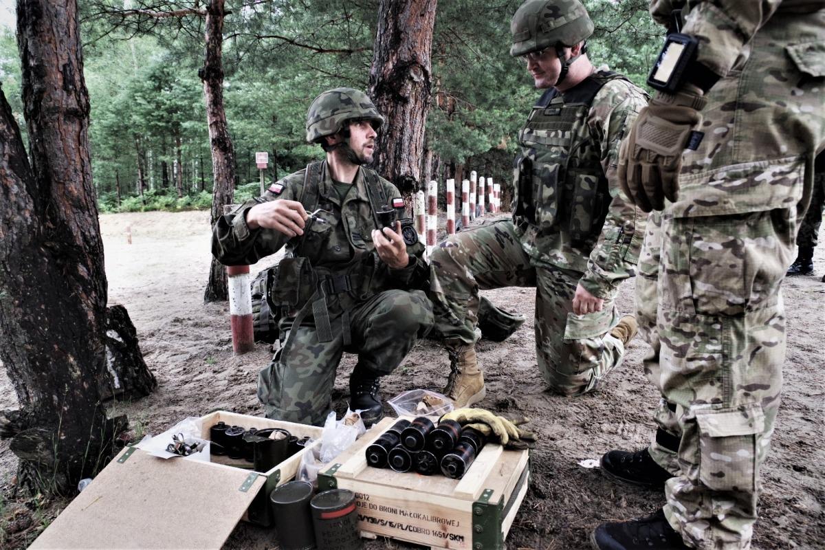 Amerykańscy żołnierze na szkoleniach w Nisku i Nowej Dębie  - Zdjęcie główne