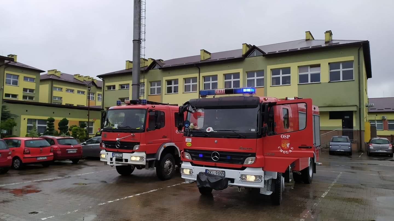 Alarm nie tylko w Kolbuszowej. Policjanci wezwani do kolejnych dwóch szkół - Zdjęcie główne