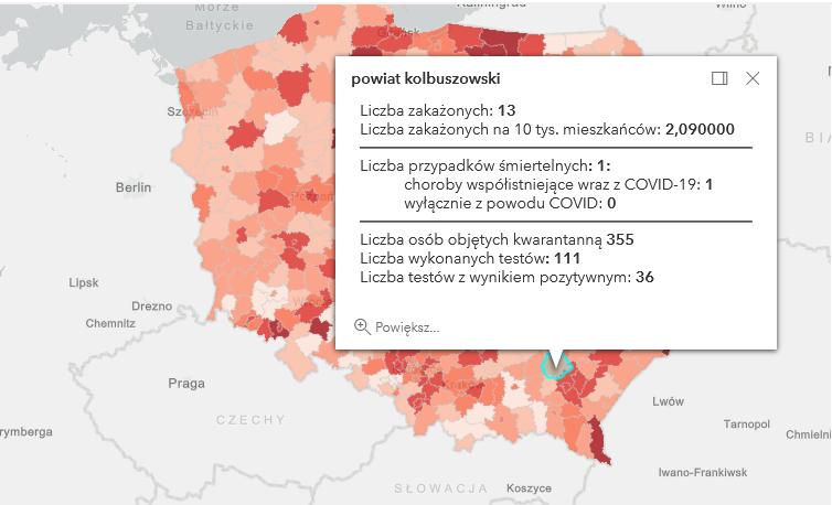 Covid-19 w powiecie kolbuszowskim i na Podkarpaciu. Przypadek śmiertelny [wtorek - 16 marca] - Zdjęcie główne