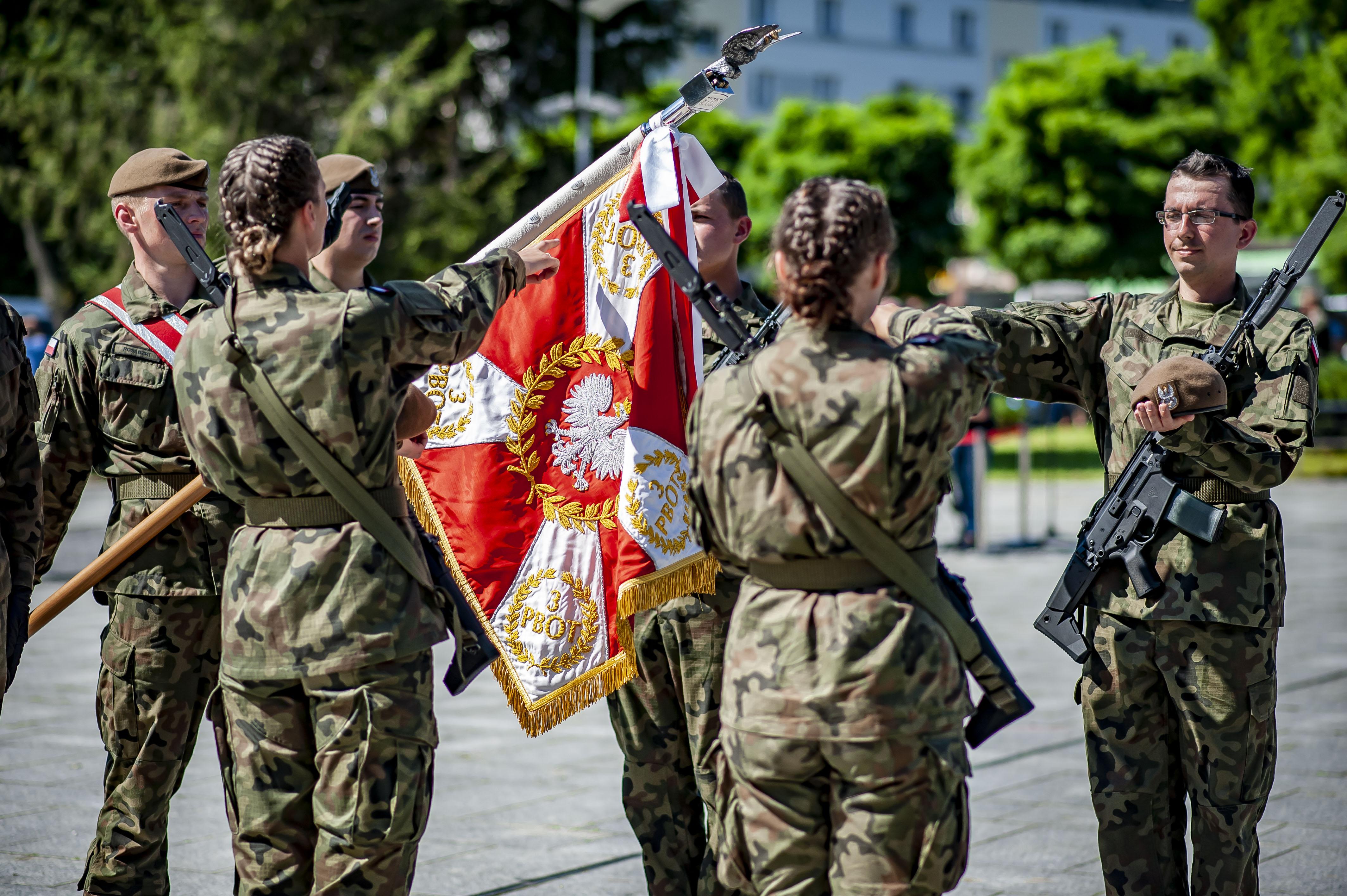 Terytorialsi będą przysięgać w Nowej Dębie - Zdjęcie główne