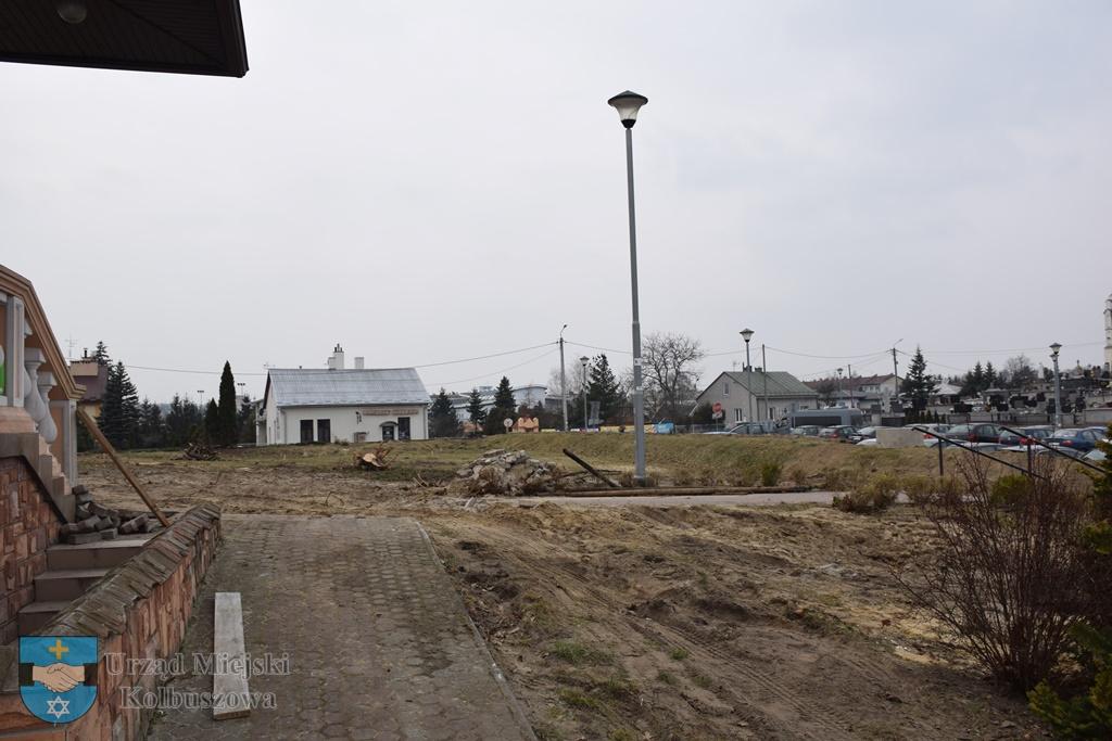 W centrum Kolbuszowej powstanie ogród spacerowy [ZDJĘCIA] - Zdjęcie główne