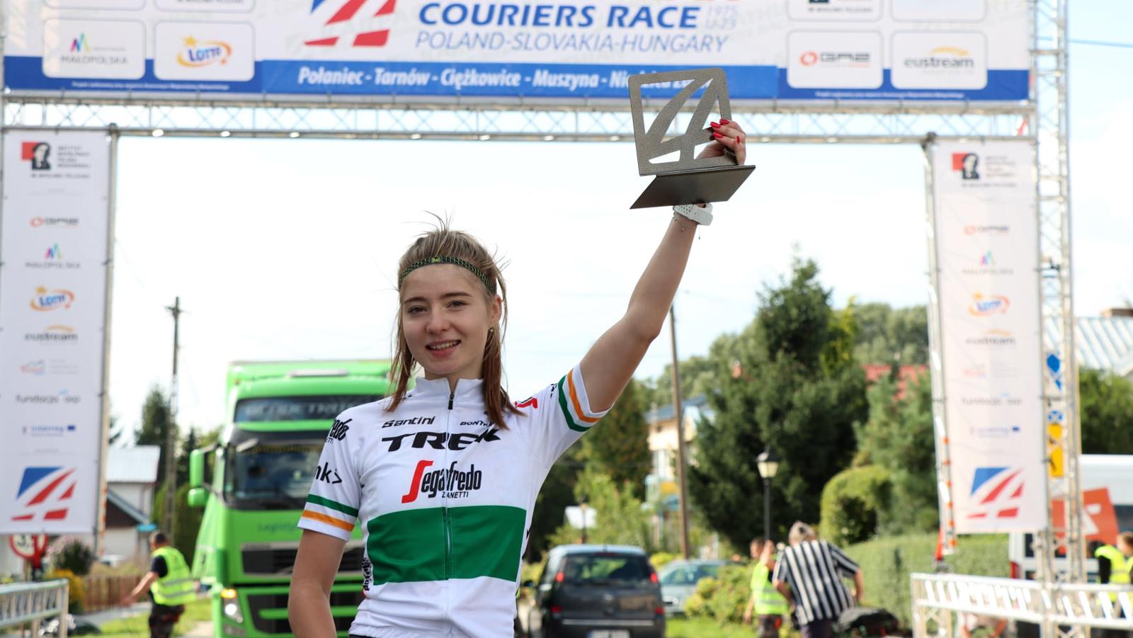 Monika Węgrzyn zanotowała piąty zwycięski wyścig w tym roku - Zdjęcie główne