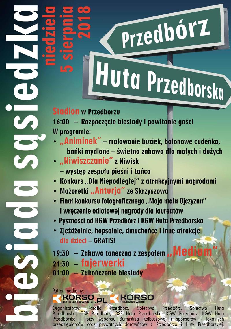Gmina Kolbuszowa. Przedbórz i Huta Przedborska wspólnie organizują biesiadę  - Zdjęcie główne