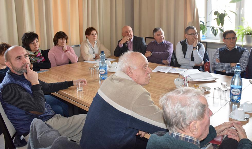 Władze Kolbuszowej rozmawiały z mieszkańcami i przedsiębiorcami o przebudowie ul. 11 Listopada w Kolbuszowej  - Zdjęcie główne