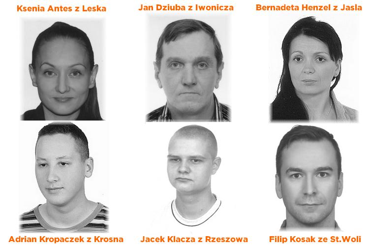 Zobacz twarze gwałcicieli i ich wspólników z Podkarpacia  AKTUALIZACJA  - Zdjęcie główne