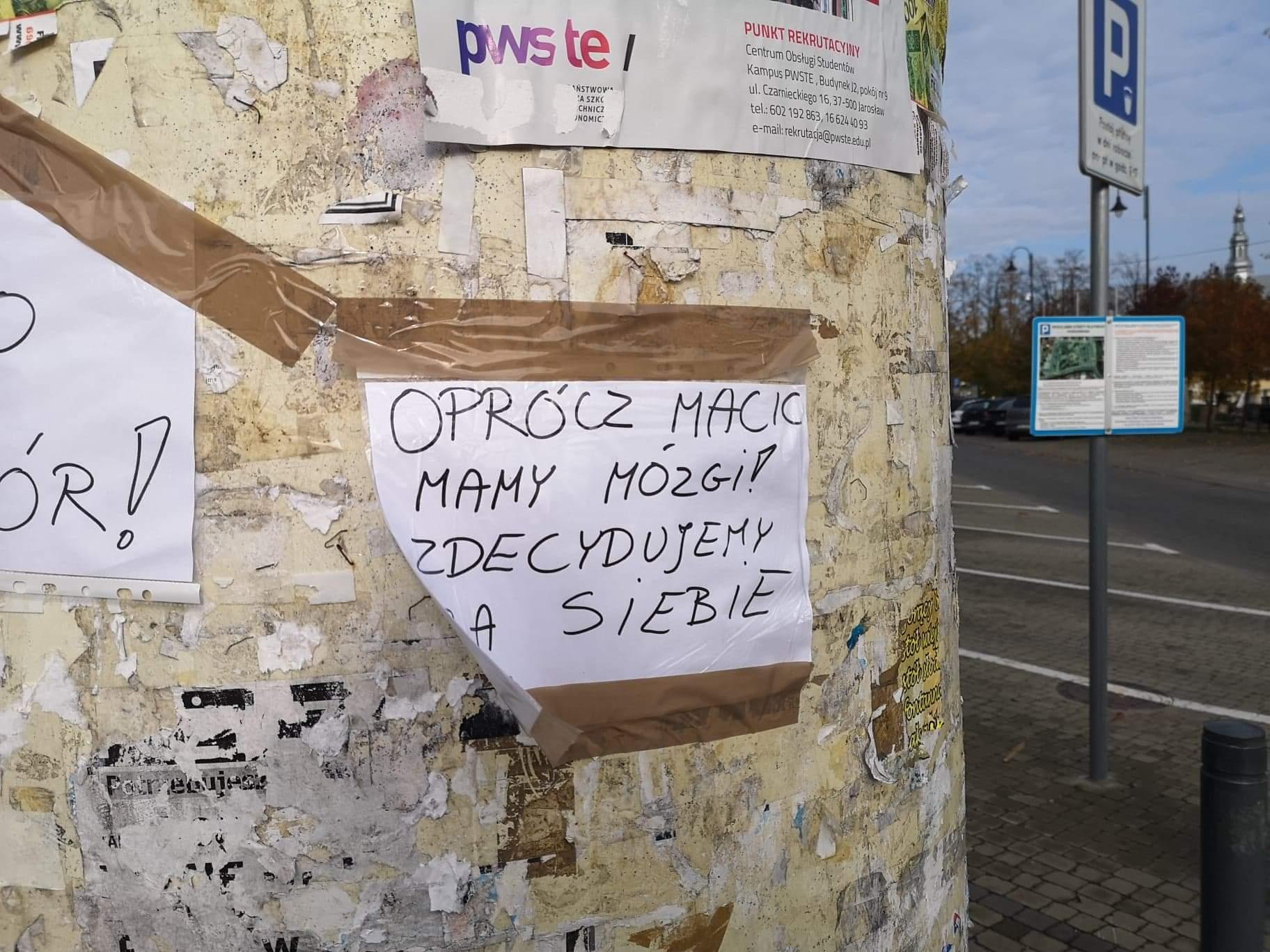 Głosy sprzeciwu w centrum Kolbuszowej [FOTO] - Zdjęcie główne