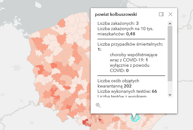 Kolejne zakażenia i śmierć w powiece kolbuszowskim [piątek - 23 kwietnia] - Zdjęcie główne
