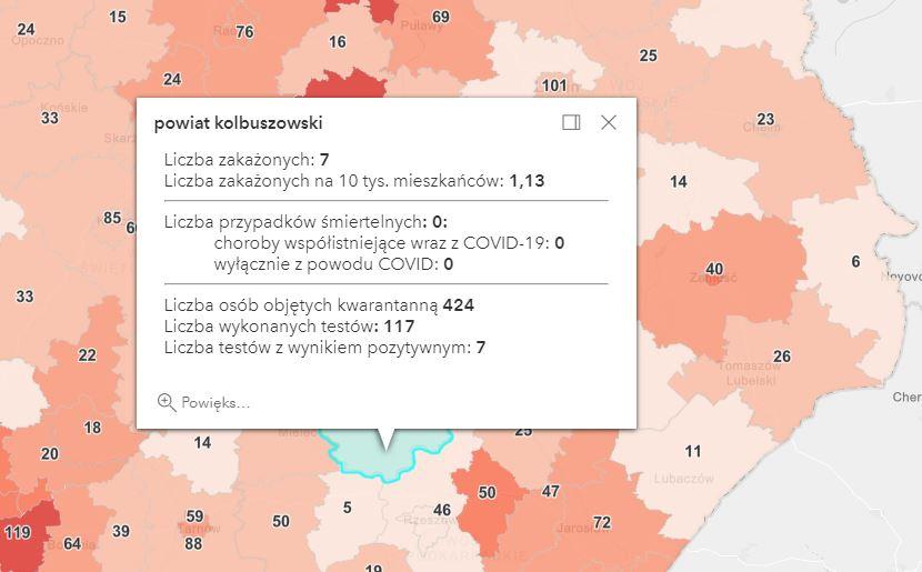 Nowe zakażenia i zgony na Podkarpaciu [niedziela - 11 kwietnia] - Zdjęcie główne