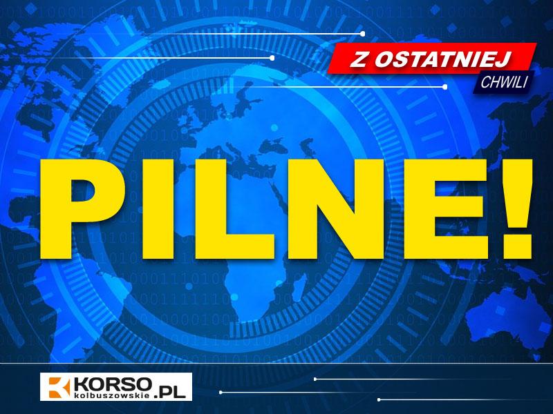 Niewybuch znaleziony w Trzęsówce. Policjanci zabezpieczają teren  - Zdjęcie główne
