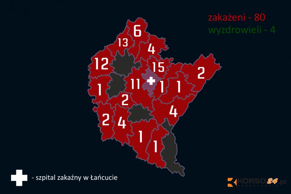 Koronawirus już niemal we wszystkich powiatach wokół Kolbuszowej [AKTUALIZACJA] - Zdjęcie główne