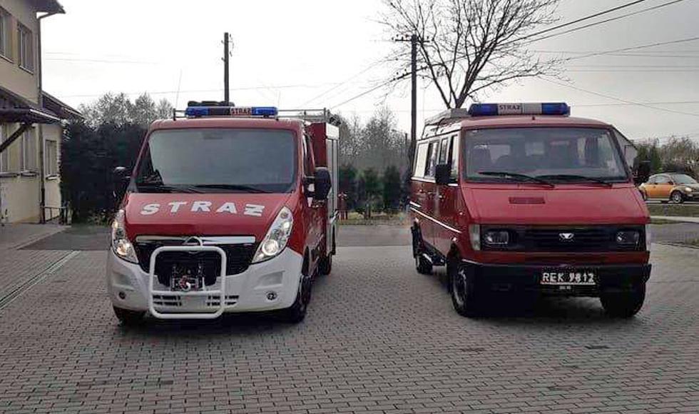 Strażacy z Hadykówki po wielu latach starań doczekali się nowego wozu - Zdjęcie główne