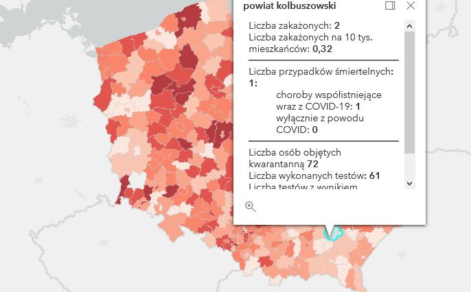 Zmarł mieszkaniec powiatu kolbuszowskiego zakażony Covid-19. Raport [środa - 12 maja] - Zdjęcie główne