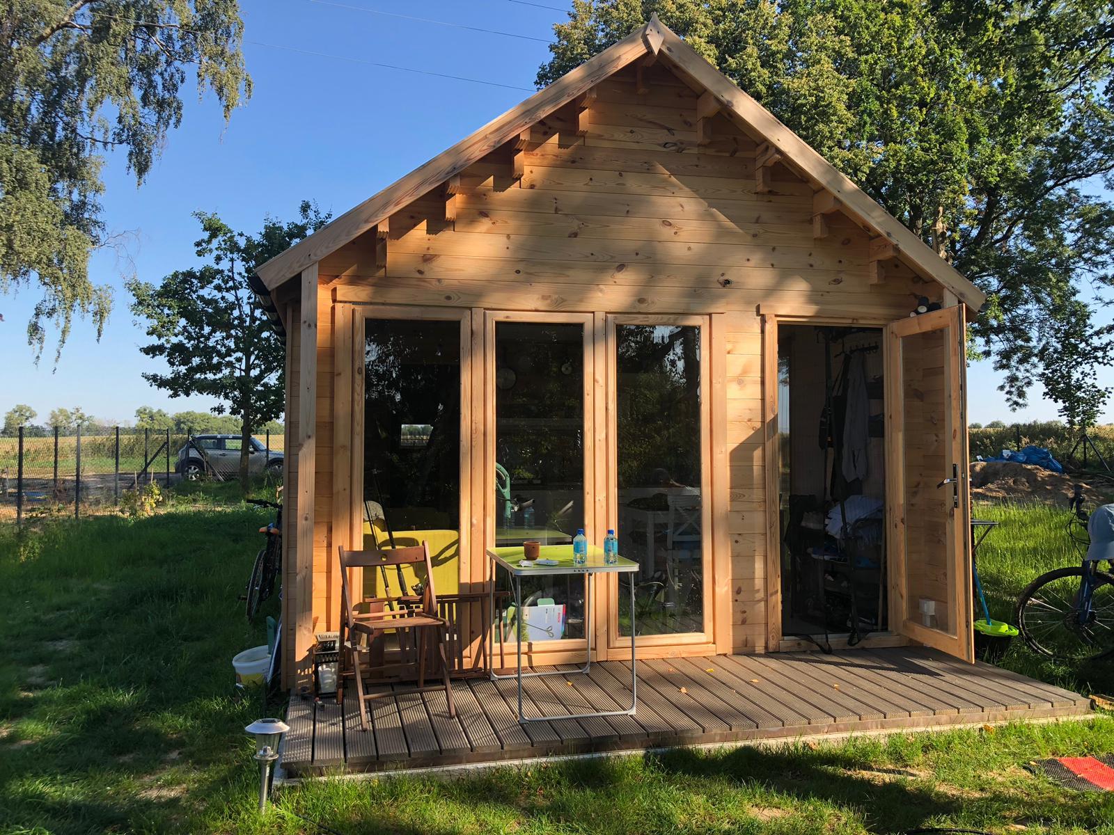 Drewniane domki całoroczne firmy Eko Architektura - Zdjęcie główne
