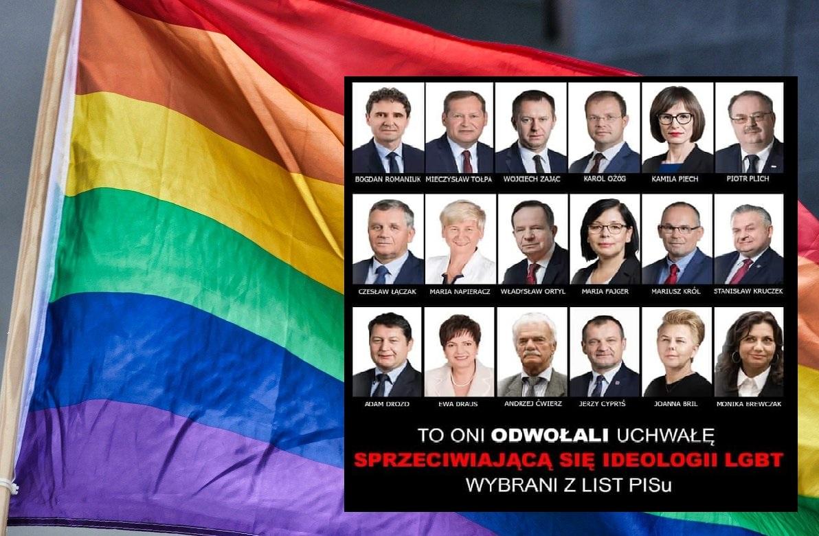 """PODKARPACIE: Radni PiS uchylili uchwałę """"anty-LGBT"""". Tomasz Buczek komentuje sprawę - Zdjęcie główne"""