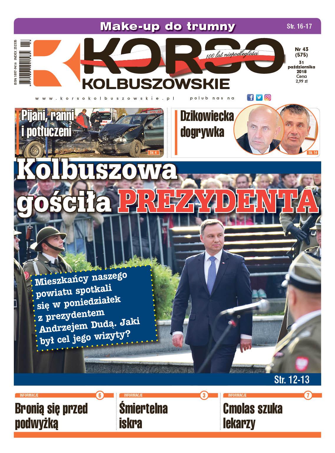 Korso Kolbuszowskie - nr 43/2018 - Zdjęcie główne