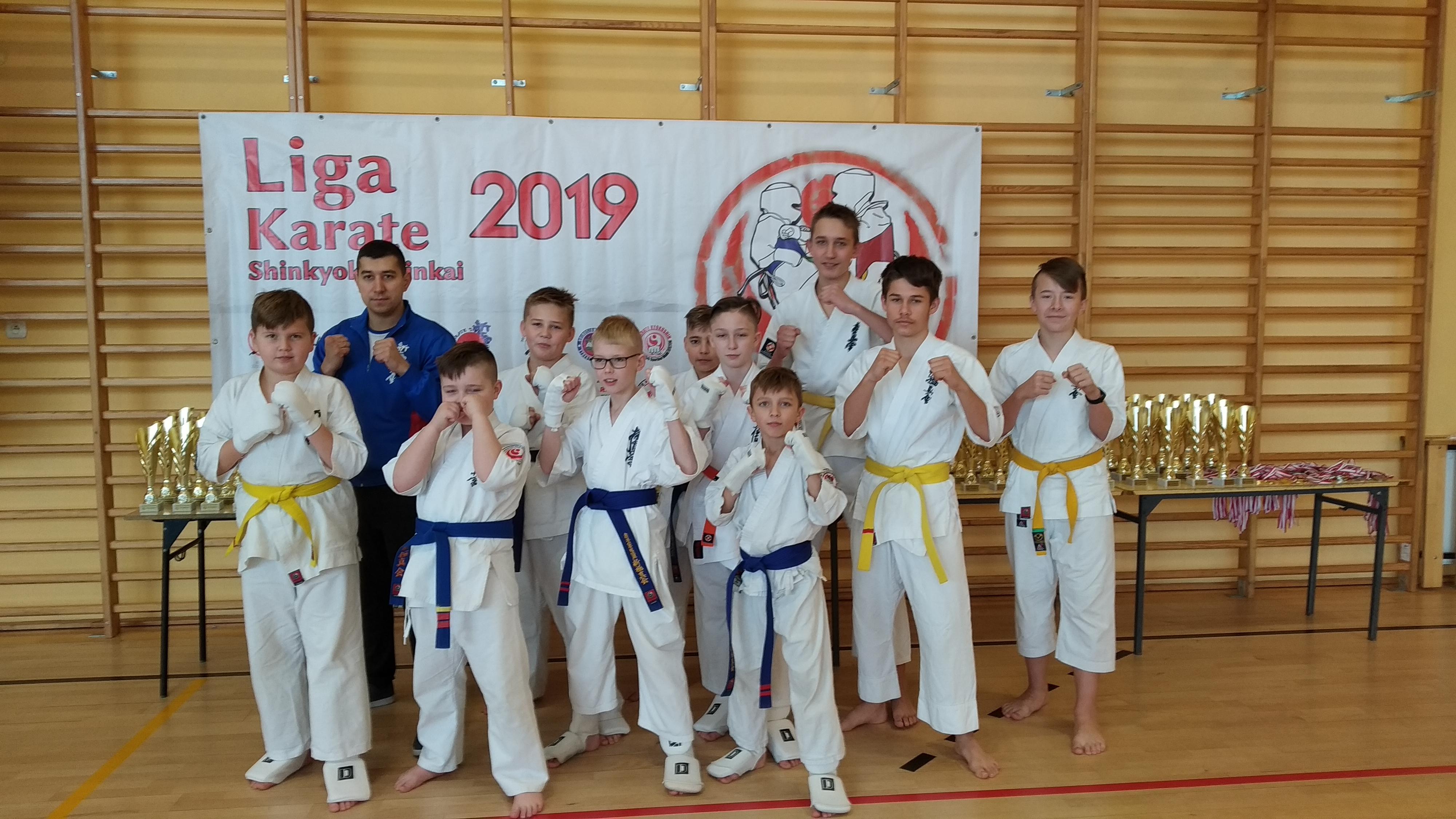 Zawodnicy z Kolbuszowskiego Klubu Karate wrócili z medalami i pucharami - Zdjęcie główne