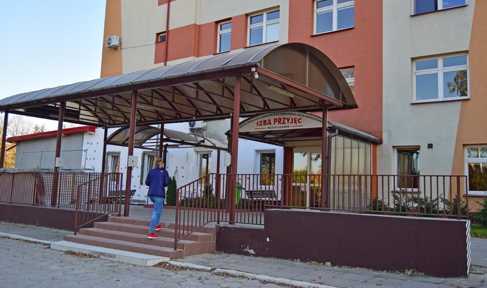 Firma zewnętrzna wchodzi do szpitala w Kolbuszowej - Zdjęcie główne