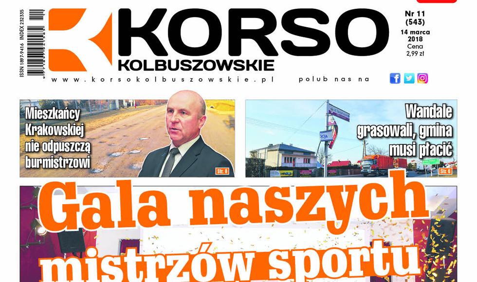 Nowy numer tygodnika Korso Kolbuszowskie - nr 11/2018 - Zdjęcie główne