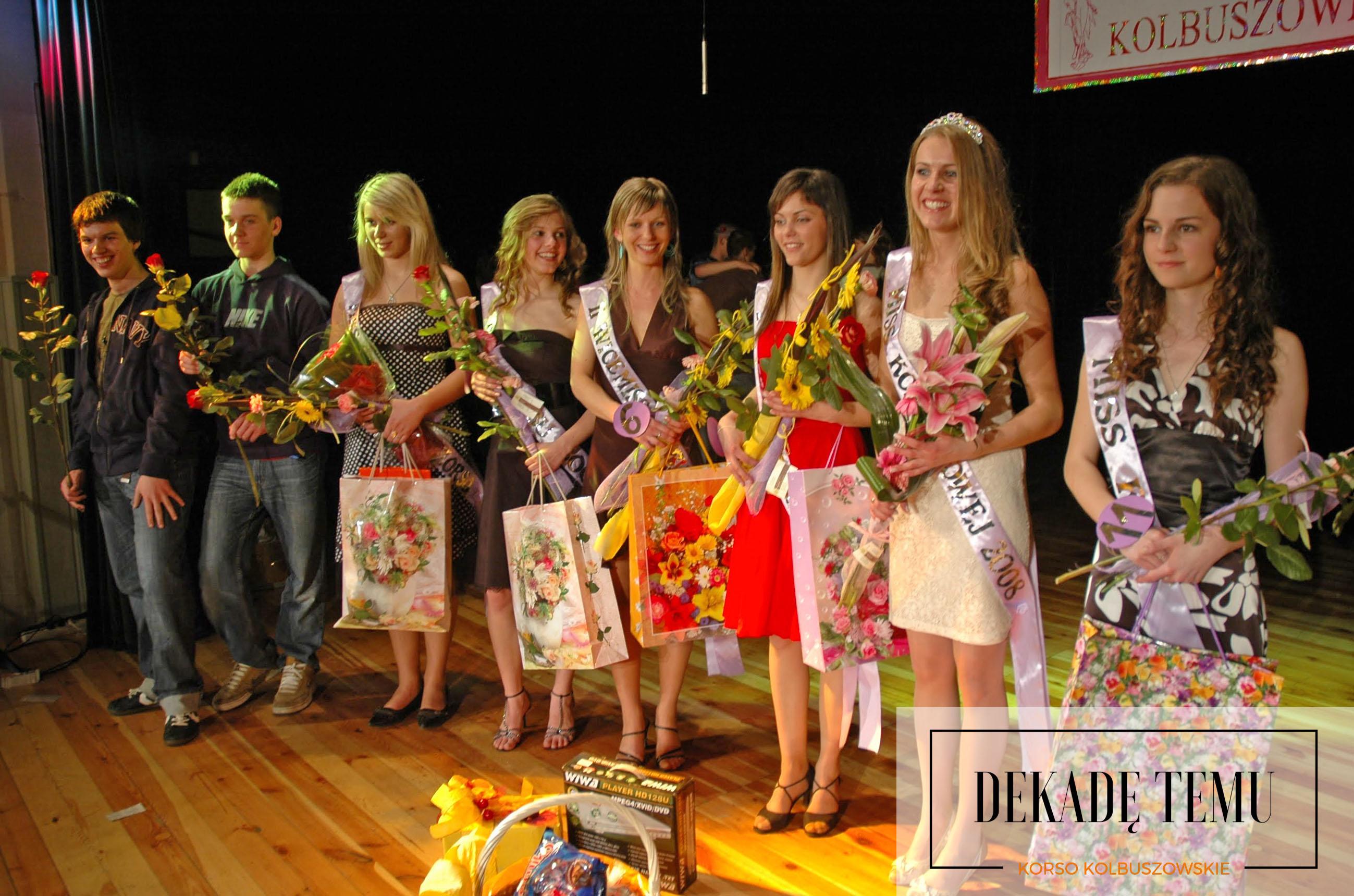 [DEKADĘ TEMU] Finał wyborów Miss Kolbuszowej 2008 - Zdjęcie główne