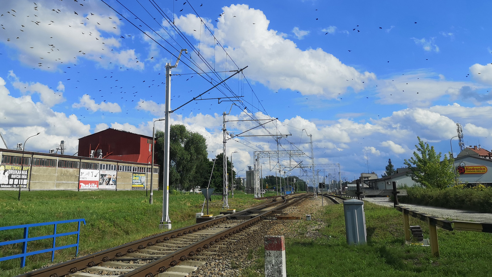 Zakończono elektryfikację linii kolejowej biegnącej przez Kolbuszową  - Zdjęcie główne