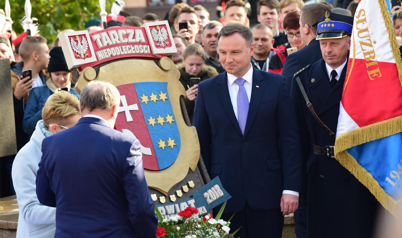 Prezydent RP Andrzej Duda gościł dzisiaj w Kolbuszowej   ZDJĘCIA   WIDEO   - Zdjęcie główne