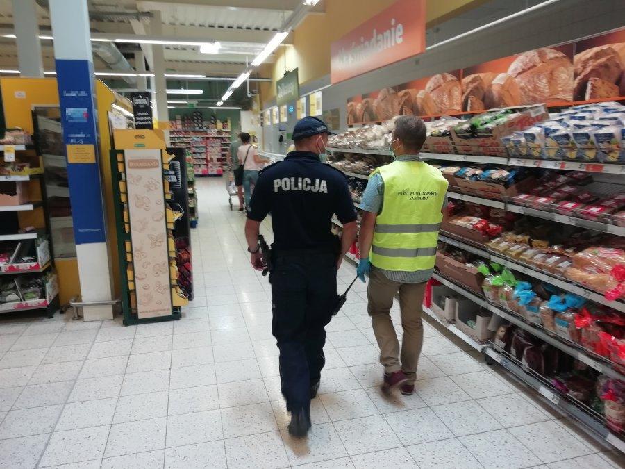 Sanepid kontroluje sklepy w powiecie kolbuszowskim. Czy były mandaty za brak maseczek?  - Zdjęcie główne