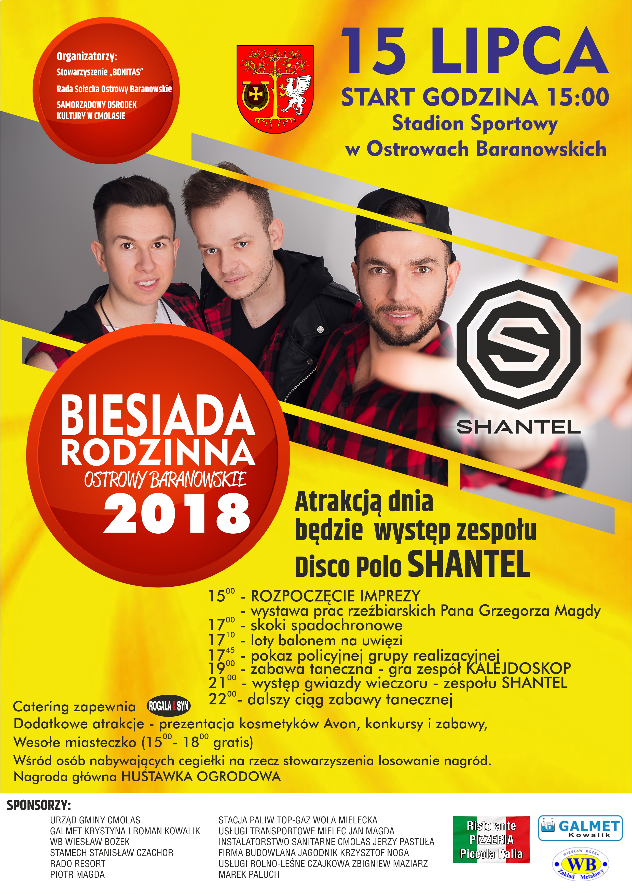Shantel gwiazdą Besiady Rodzinnej w Ostrowach Baranowskich  - Zdjęcie główne