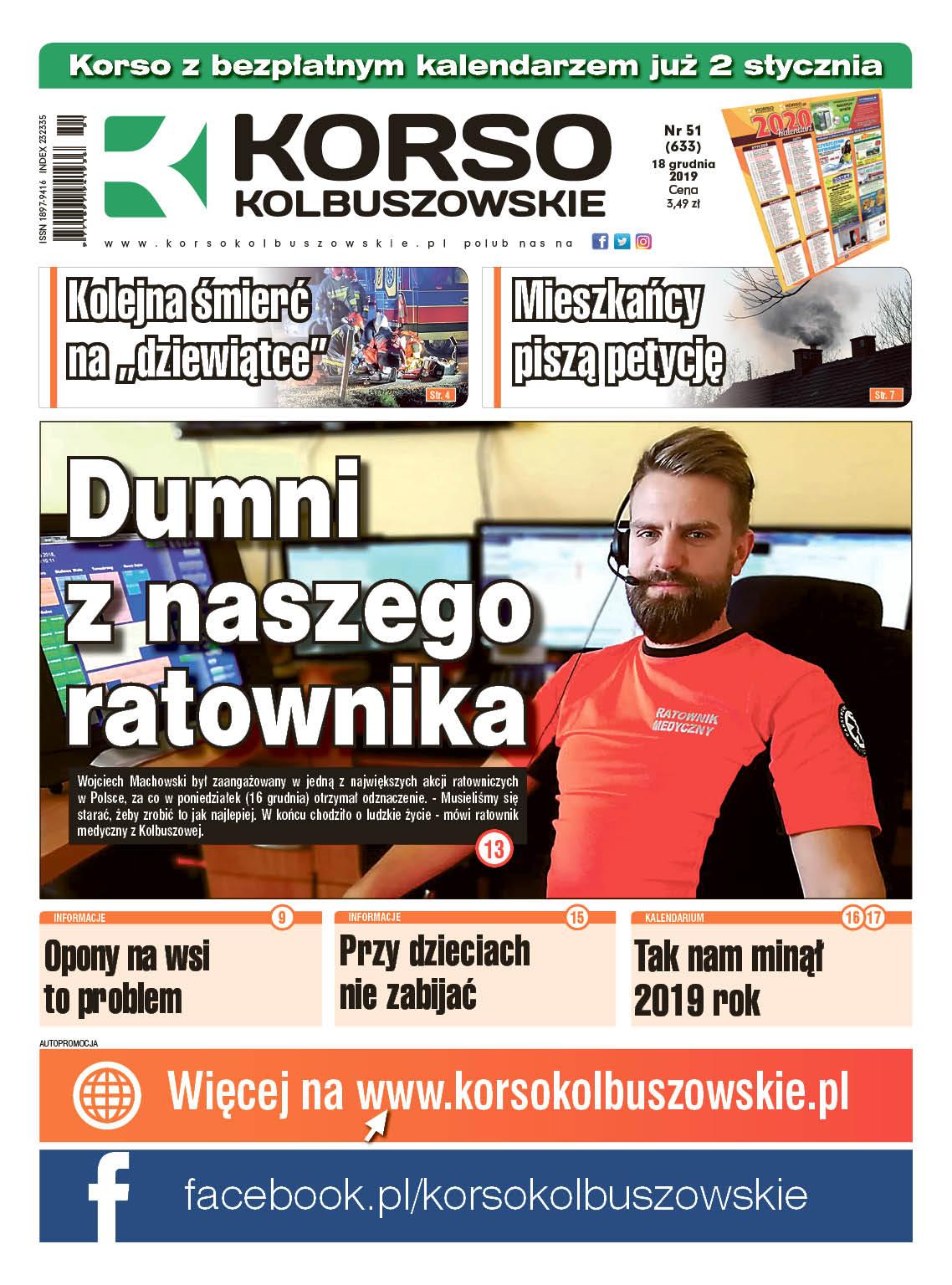 Korso Kolbuszowskie - nr 51/2019 - Zdjęcie główne