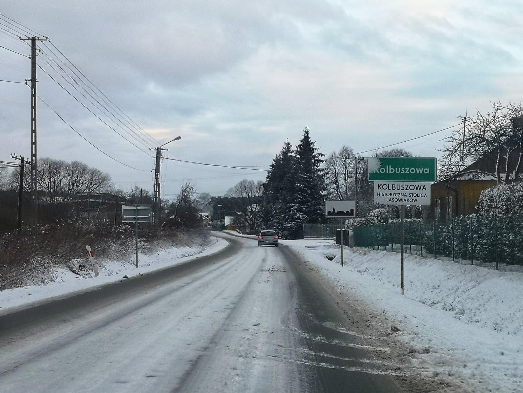 Powiat kolbuszowski. Czy zima zaskoczyła drogowców? [VIDEO] - Zdjęcie główne