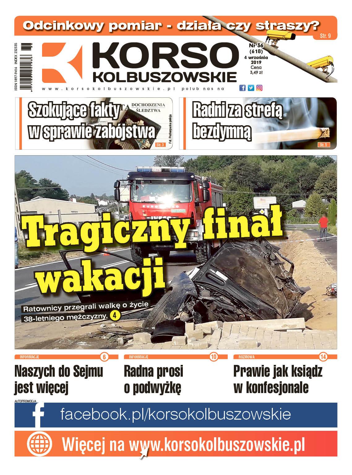 Nowy numer Korso Kolbuszowskie - nr 36/2019 - Zdjęcie główne